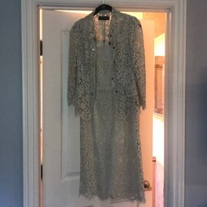 Dolce and Gabbana lace dress with jacket
